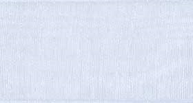 Ribbon #9 Light Blue Organdy Sheer 602 100 Yd
