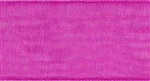 Ribbon #9 Cerise Organdy Sheer 606 100 Yd