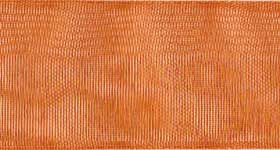 Ribbon #9 Copper Organdy Sheer 633 100 Yd