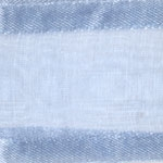 Ribbon #3 Delight Sheer Lt. Blue W/Satin Edge 25Y