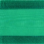 Ribbon #3 Delight Sheer Emerald W/Satin Edge 25Y