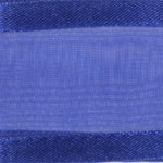 Ribbon #3 Delight Sheer Royal Blue W/Satin Edge 25