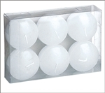 "2"" Floating Candle (Pack of 6) - White"