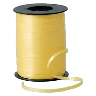 Ribbon Curling Light Yellow  500Yd