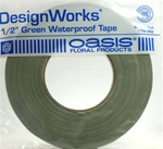 "DesignWorks® 1/2"" Green Waterproof Tape"