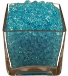 Bright Blue Acrylic Gems 1.5cm