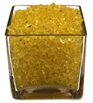 Yellow Acrylic Vase Filler 1.5cm