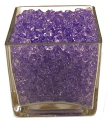 Purple Acrylic Vase Filler 1.5cm