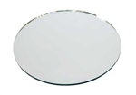 "Round Centerpiece Mirror For Tables (10"")"