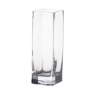 Square Glass Vase 3x3x6