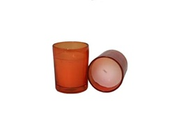 Votive with Candle - Lavender (Case of 25)