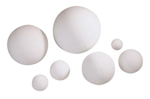 "10"" STYROFOAM® Ball, 6/case"