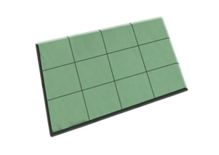 OASIS® Floral Foam Tile, 4 case
