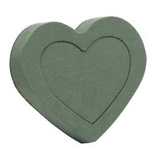 OASIS® Floral Foam Shape, Heart, 2 pack