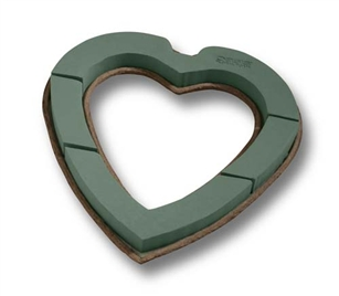 "12"" OASIS® Mache Open Heart, 4/case"