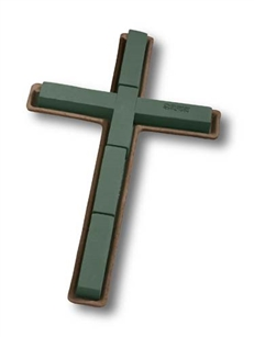 "20"" OASIS® Mache Cross, 2 pack"
