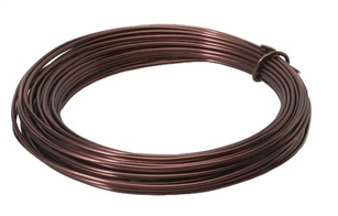 OASIS™ Aluminum Wire, Brown, 1 pack