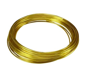 OASIS™ Aluminum Wire, Yellow, 10/case