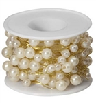 OASIS™ Beaded Wire, Ivory, 1 pack
