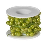 OASIS™ Beaded Wire, Apple Green, 10/case
