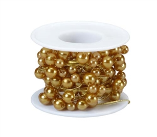 OASIS™ Beaded Wire, Gold, 1 pack