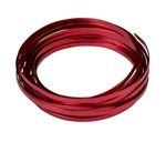 "3/16"" OASIS™ Flat Wire, Red, 10/case"