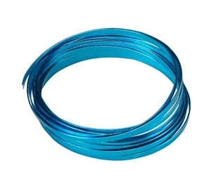 "3/16"" OASIS™ Flat Wire, Turquoise, 1 pack"
