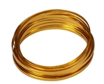 "3/16"" OASIS™ Flat Wire, Gold, 10/case"