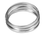 "3/16"" OASIS™ Flat Wire, Silver, 10/case"