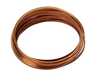 "3/16"" OASIS™ Flat Wire, Copper, 10/case"