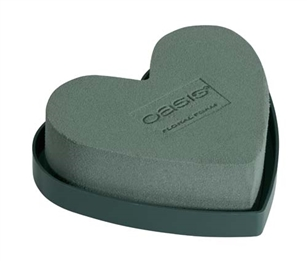 "5"" OASIS® Solid Mini Heart, 2 pack"