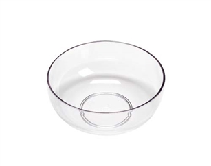 "9"" LOMEY® Design Bowl, Clear, 12 pack"