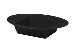 ESSENTIALS™ Oval Bowl, Onyx, 24/case