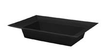ESSENTIALS™ Rectangle Bowl, Onyx, 24/case