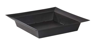 ESSENTIALS™ Large Square Bowl, Onyx, 24/case