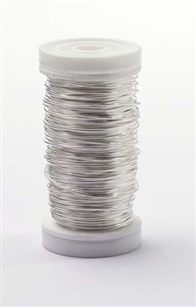 OASIS™ Metallic Wire, Silver, 1 pack