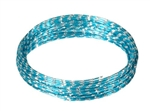 OASIS™ Diamond Wire, Turquoise, 10/case