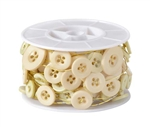 OASIS™ Button Wire, Ivory, 6/case