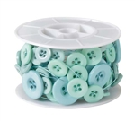 OASIS™ Button Wire, Aqua, 6/case