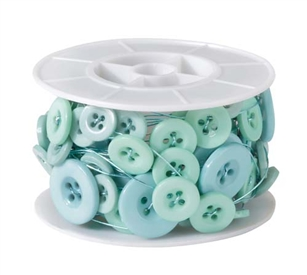 OASIS™ Button Wire, Aqua, 1 pack