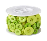 OASIS™ Button Wire, Apple Green, 6/case