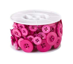 OASIS™ Button Wire, Strong Pink, 6/case