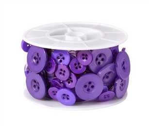 OASIS™ Button Wire, Purple, 1 pack