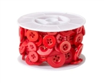 OASIS™ Button Wire, Red, 6/case