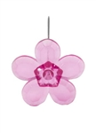 LOMEY™ Retro Flower Pin, Strong Pink, 20 pack