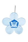 LOMEY™ Retro Flower Pin, Turquoise, 200/case