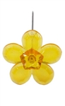 LOMEY™ Retro Flower Pin, Tangerine, 200/case