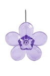 LOMEY™ Retro Flower Pin, Purple, 20 pack