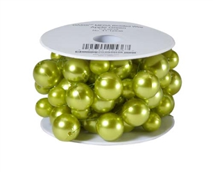 OASIS™ Mega Beaded Wire, Apple Green, 1 pack