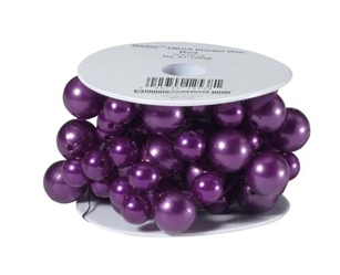 OASIS™ Mega Beaded Wire, Purple, 1 pack